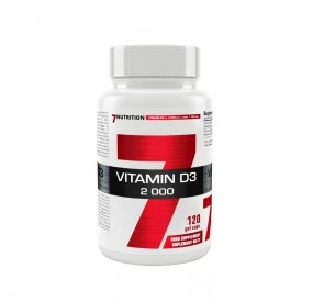 VITAMINE D3 7 NUTRITION 120 CAPS