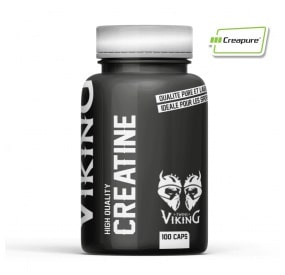 Creatine monohydrate Creapure Twins Viking haute qualité efficace en gélules