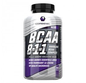 PURE BCAA´S 2:1:1 RATIO 500 CAPS